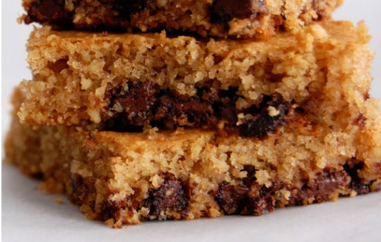 Paleo Chocolate Chip Paleo Cookie Bars Recipe