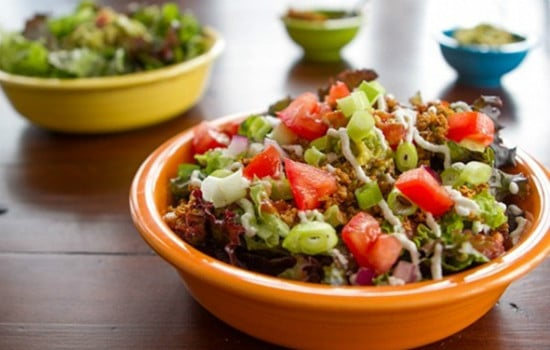 Vegan Raw Taco Salad Recipe