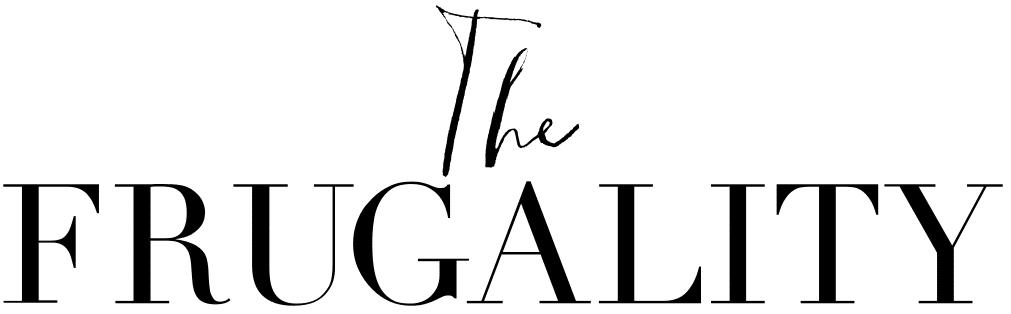 The Frugality Fashion Blog