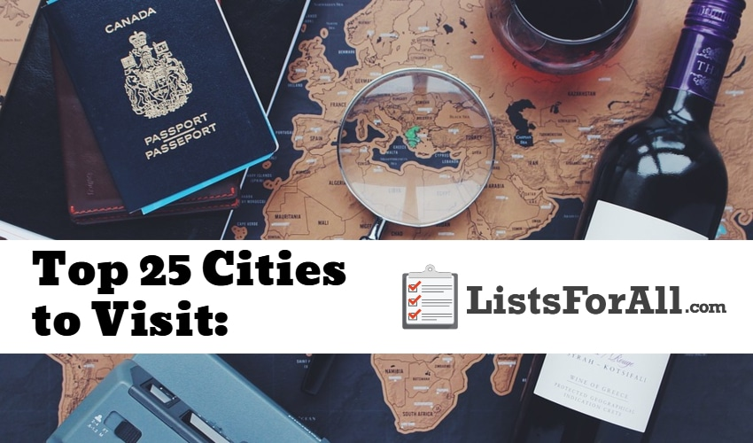 Best Cities to Visit