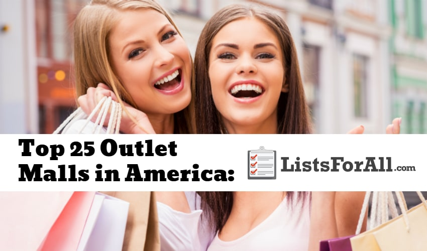 List of the Best Outlet Malls in America
