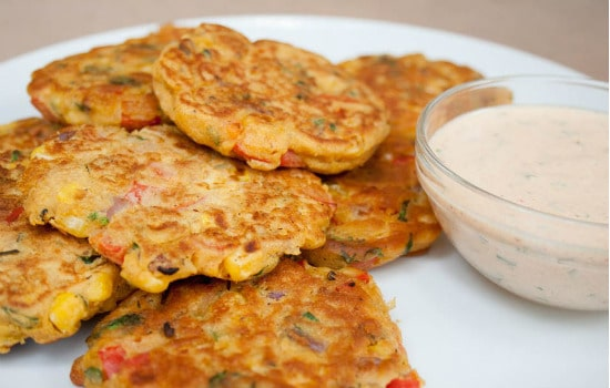 Vegan Vegetable Fritters Recipe