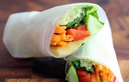 Vegan Vietnamese Summer Rolls Recipe