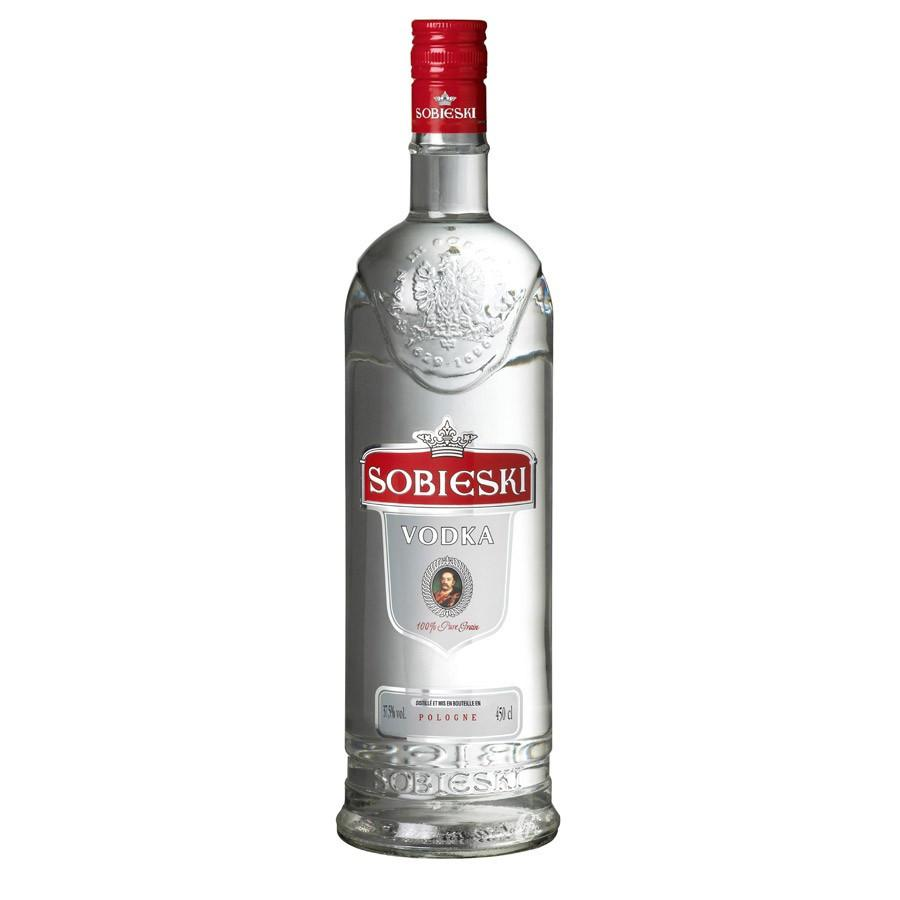 Sobieski Vodka Brand