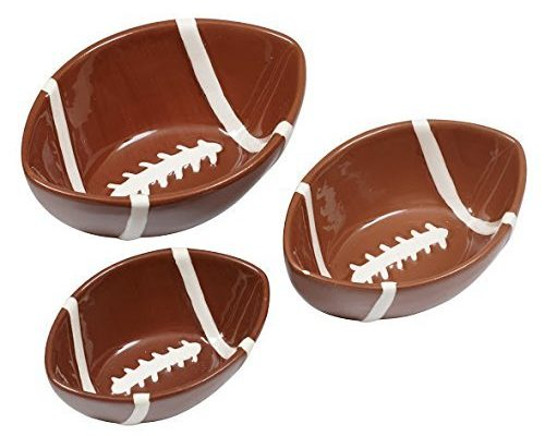 Ceramic Football Bowls Gift