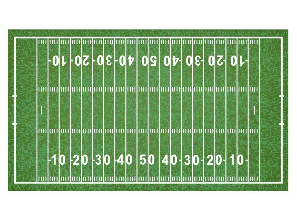 Gameday Football Field Tablecloth