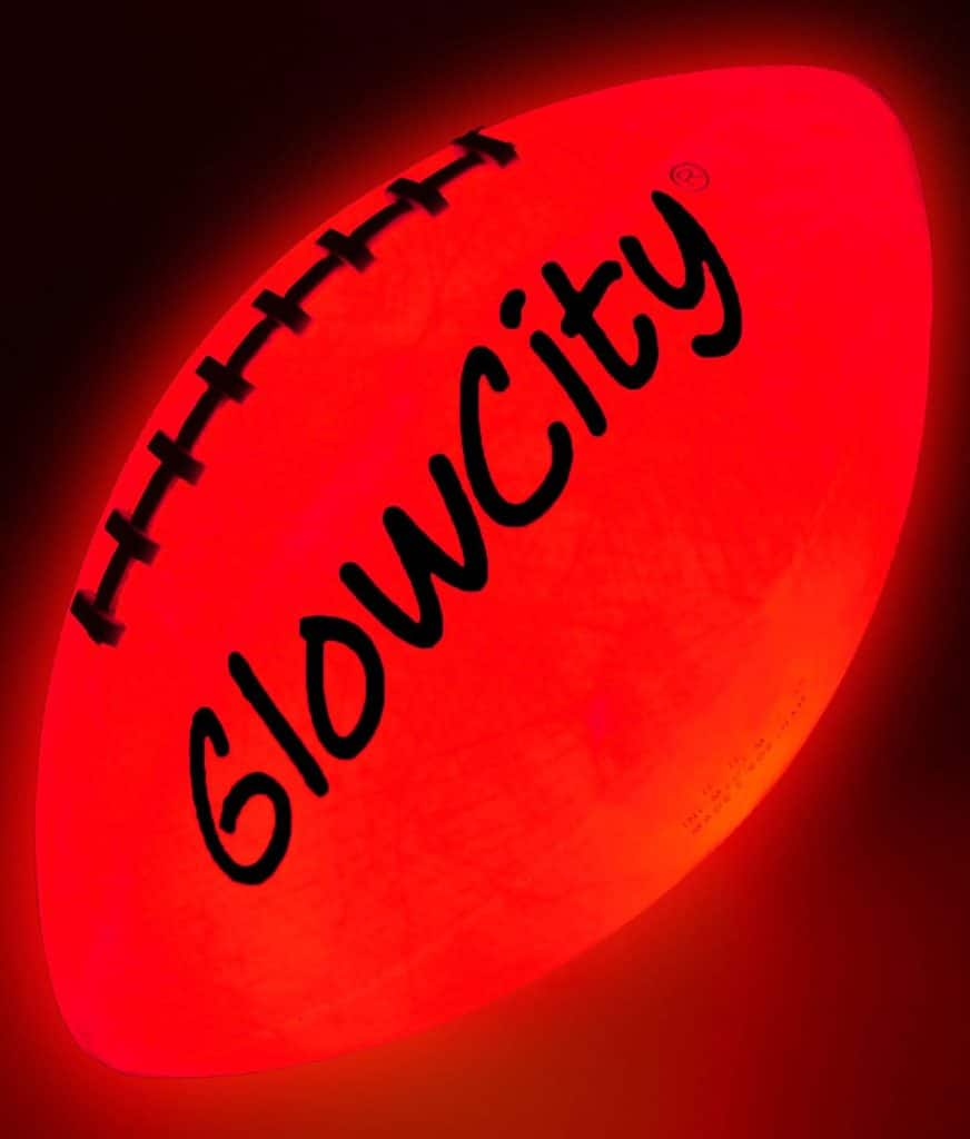 Glow in the Dark Football Gift
