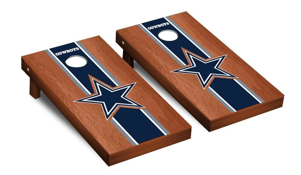 NFL Team Logo Football Cornhole Boards Gift