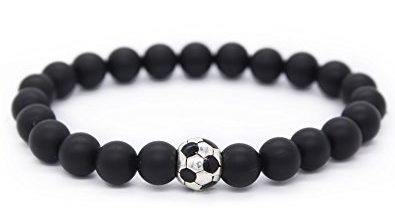 Soccer Ball Bracelet