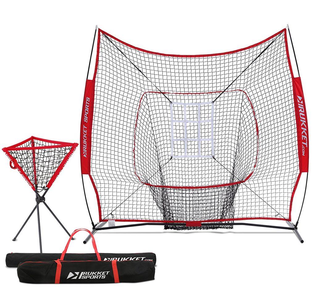 Strike Zone Pitching and Hitting Baseball Net