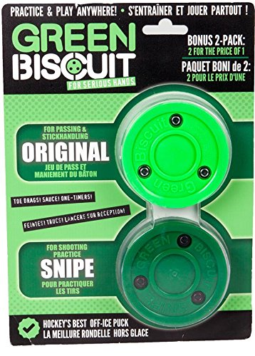 The Green Biscuit Hockey Puck Gift