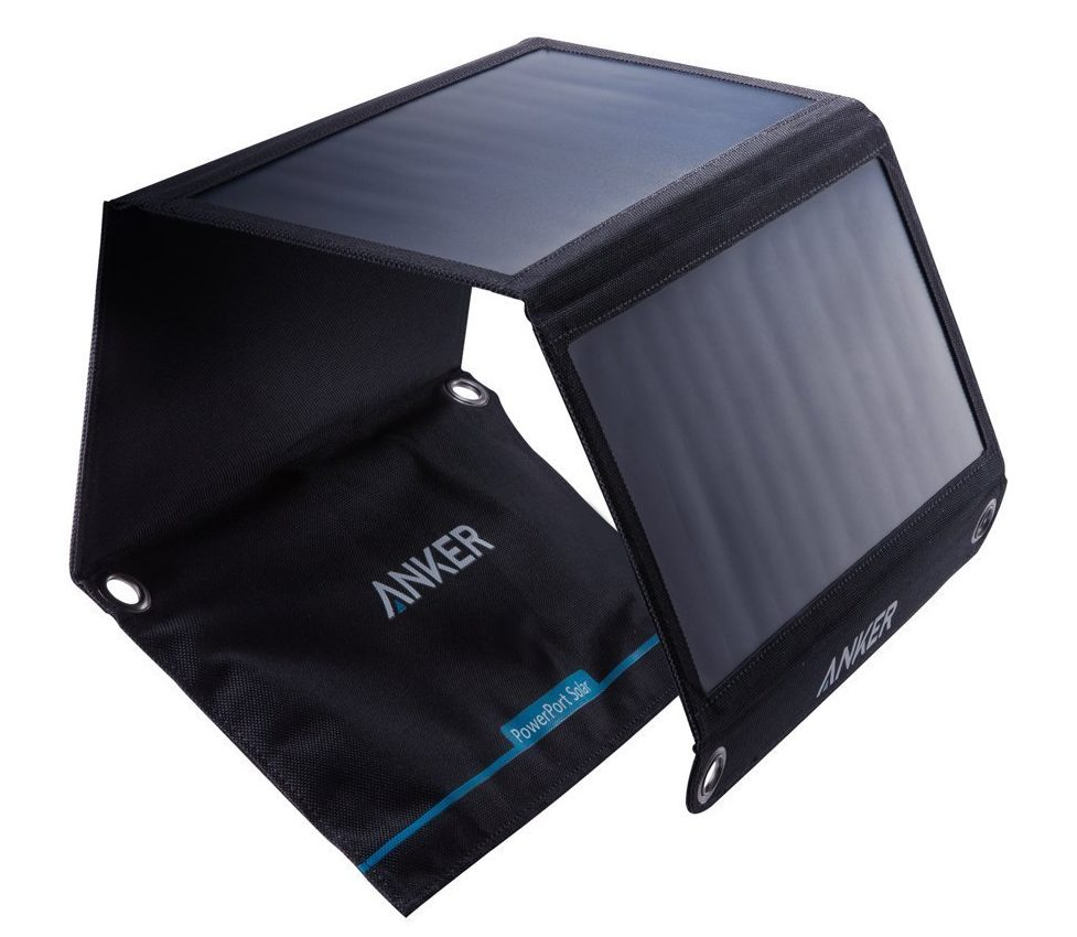 DualUSB Solar Travel Charger