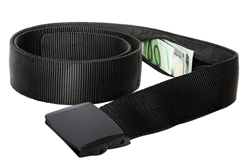 Hidden Money Pouch Travel Belt