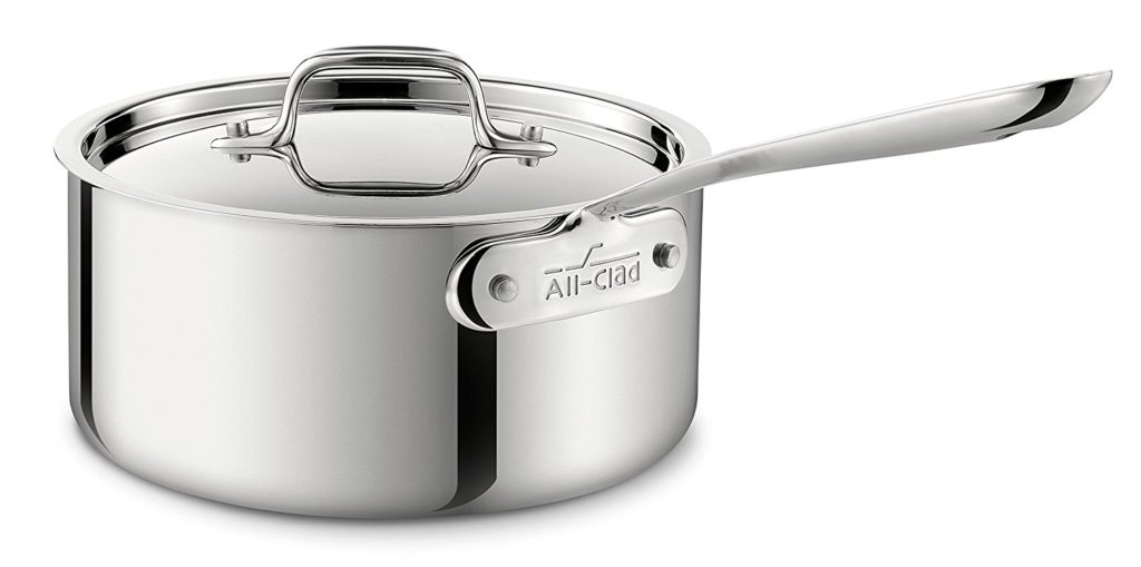 Stainless Steel Sauce Pan 3 Quart