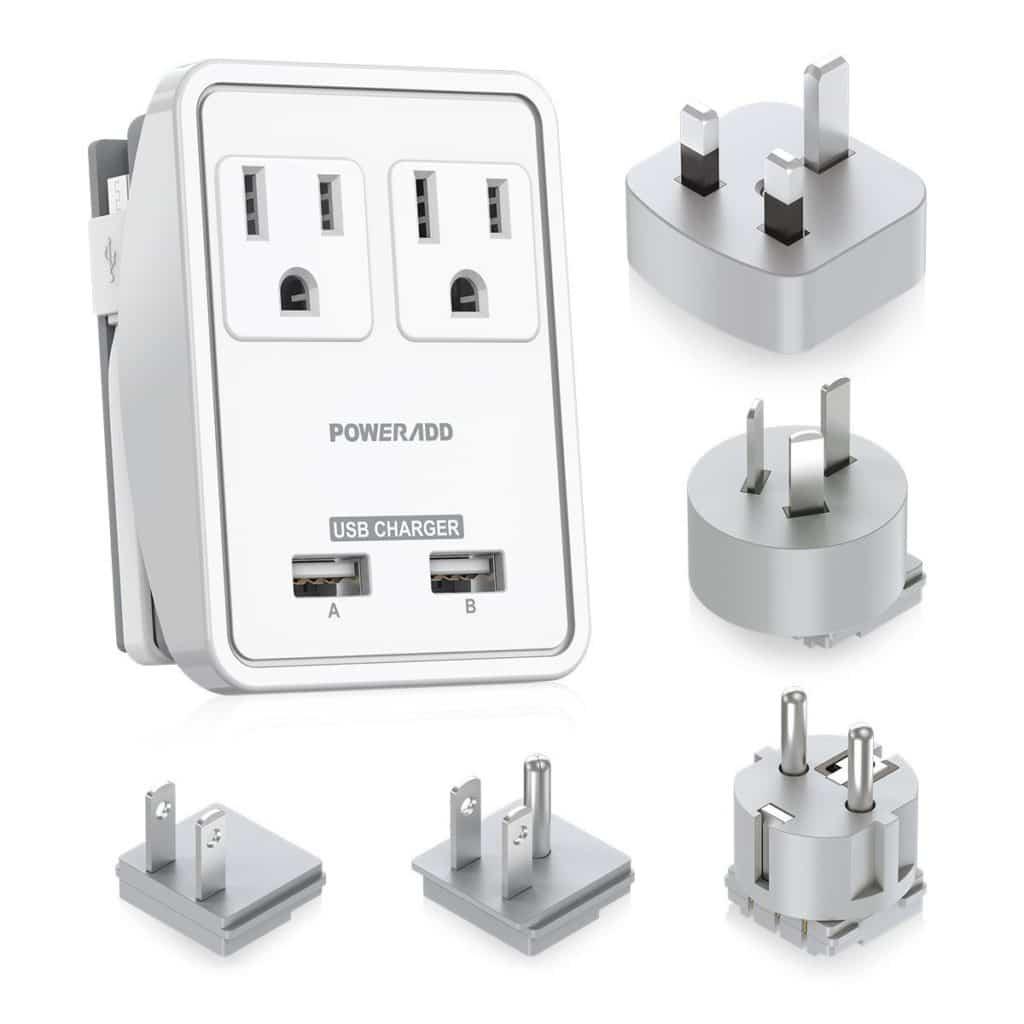 Travel Power Adapter Kit