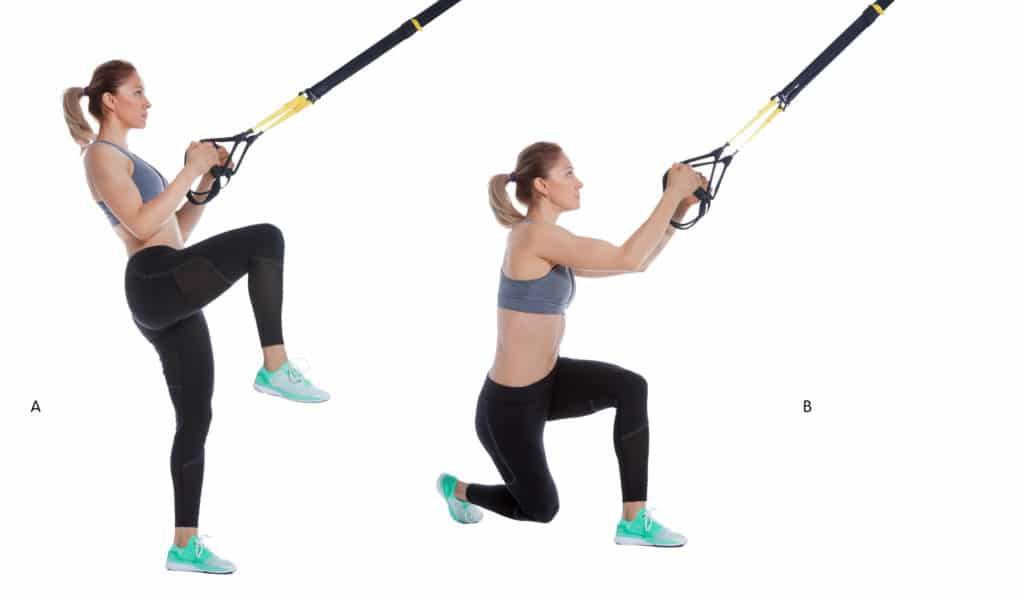 TRX Cross Lunge