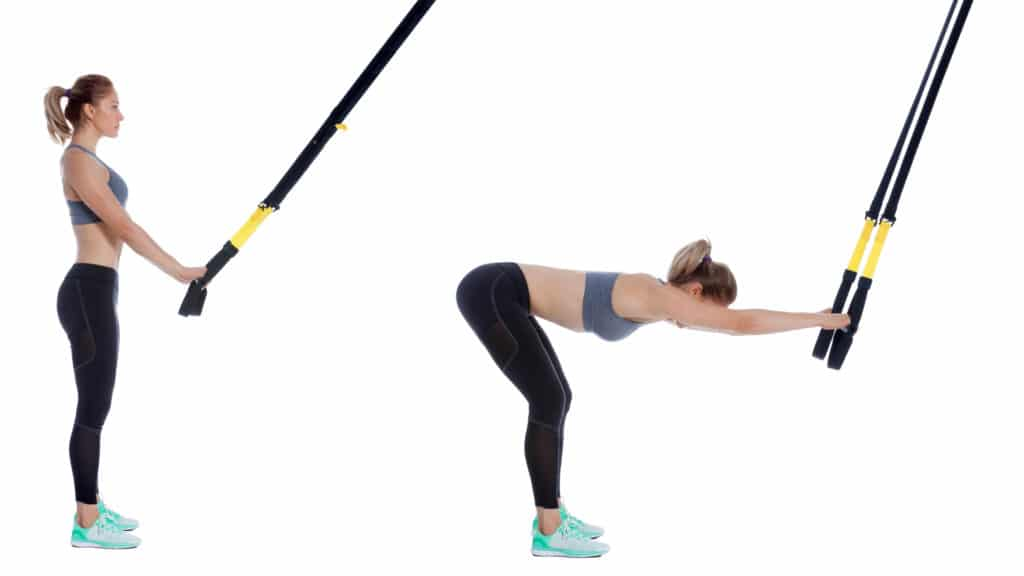 TRX Hip Hinge Stretch