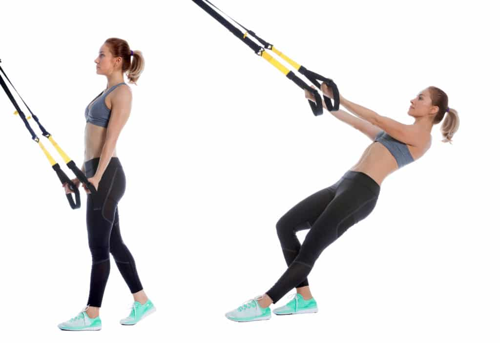 TRX Lower Deltoid Pull
