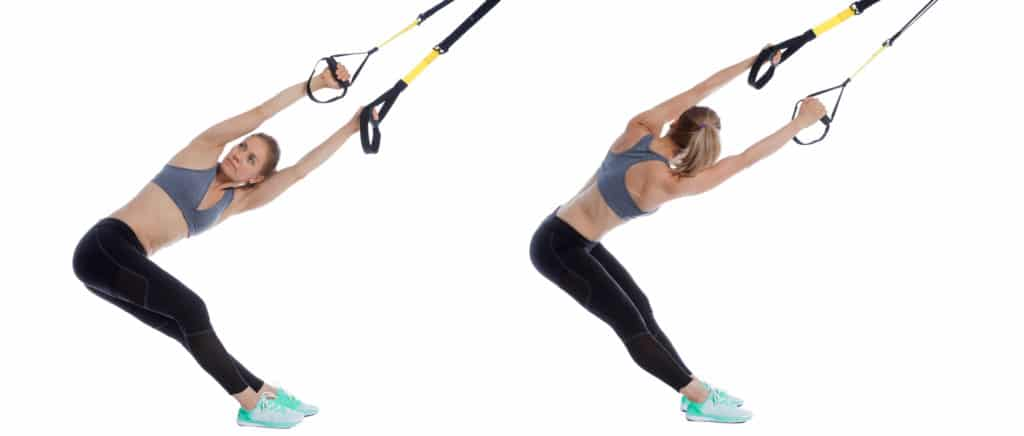 TRX Lower Back Stretch