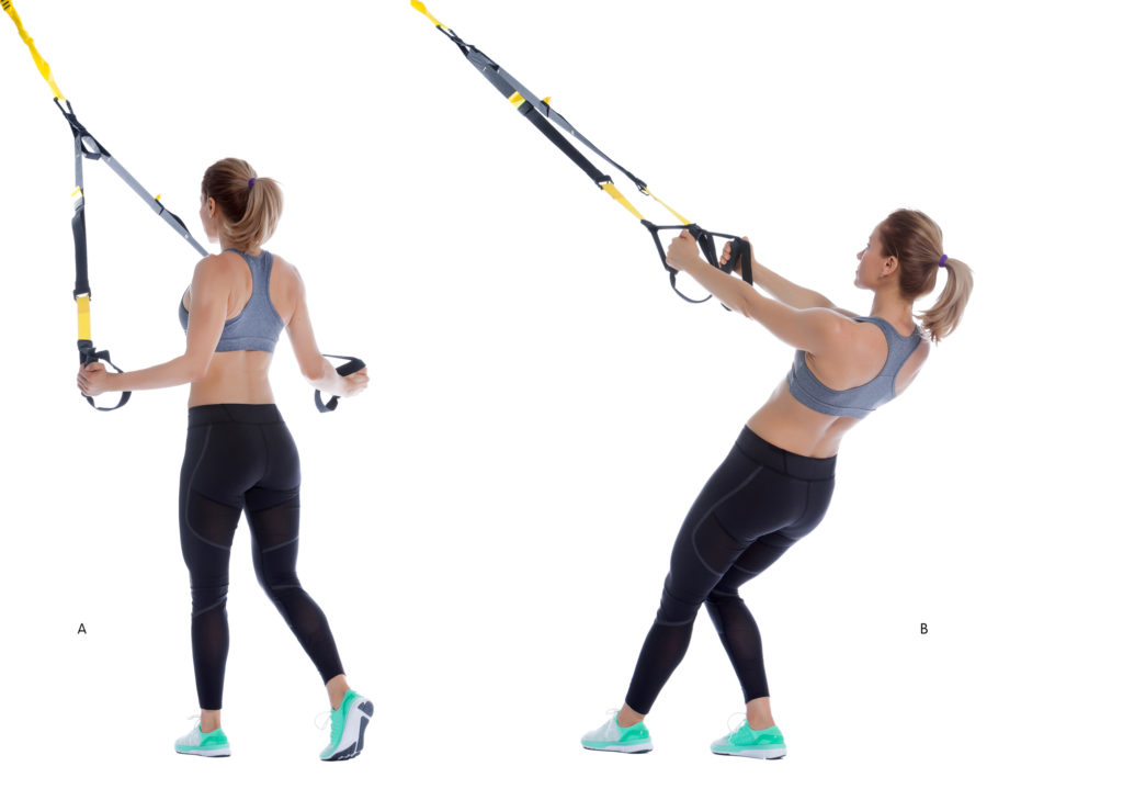 TRX Lower Deltoid Fly