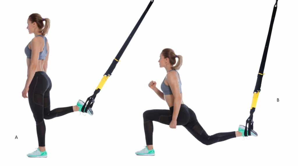 TRX Forward Lunge