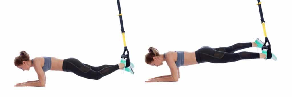 TRX Single Leg Plank