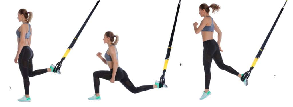 TRX Single Leg Squat Jump