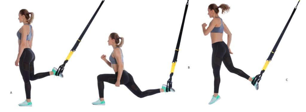 TRXSingle Leg Squat Jump