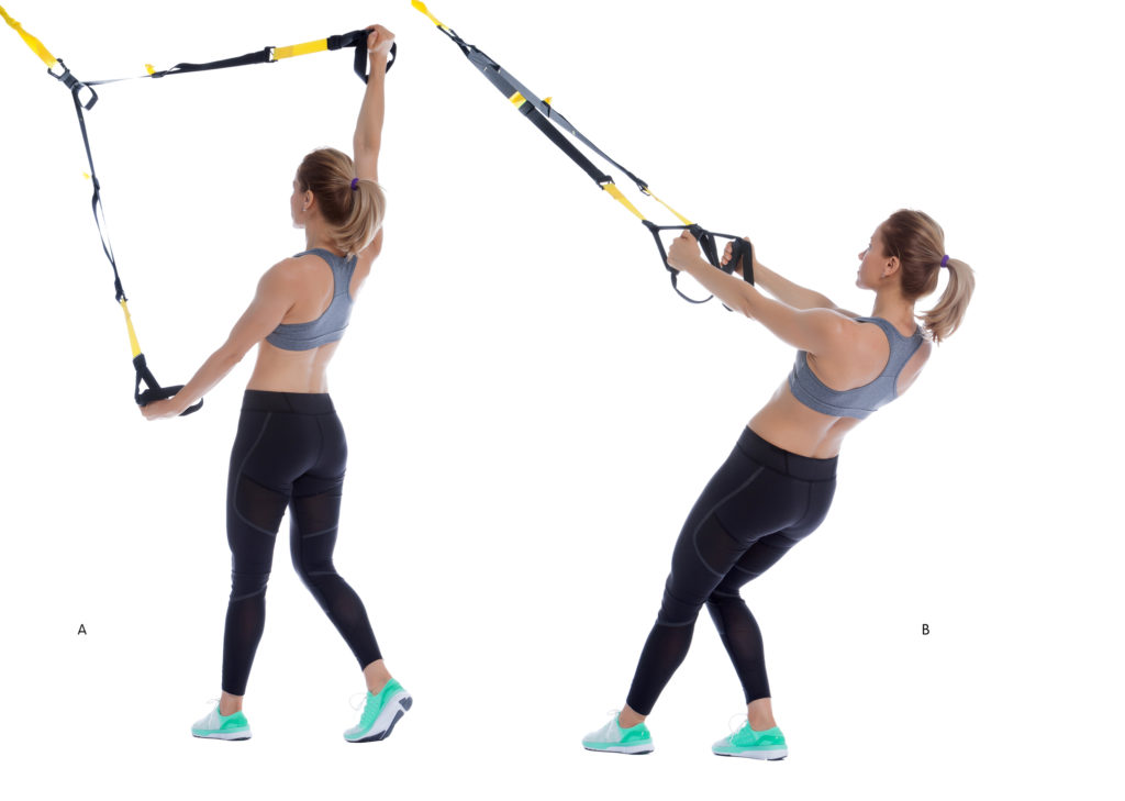 TRX Split Deltoid Fly