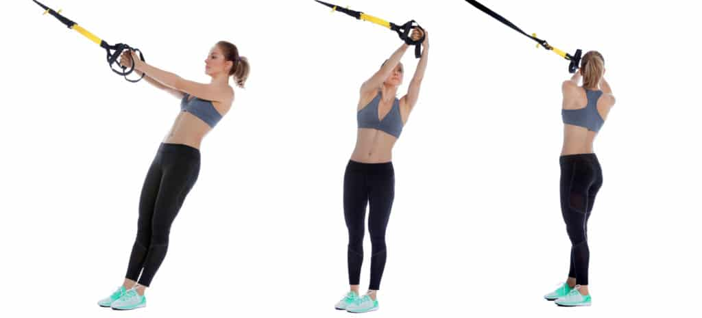TRX Torso Rotation Stretch