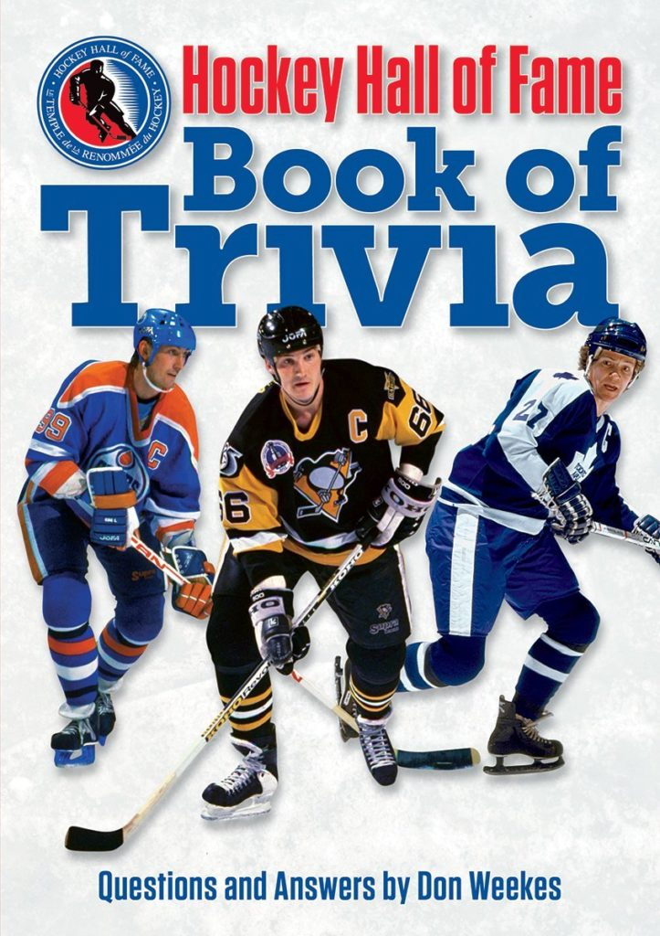 Hockey Hall of Fame Book of Trivia Gift