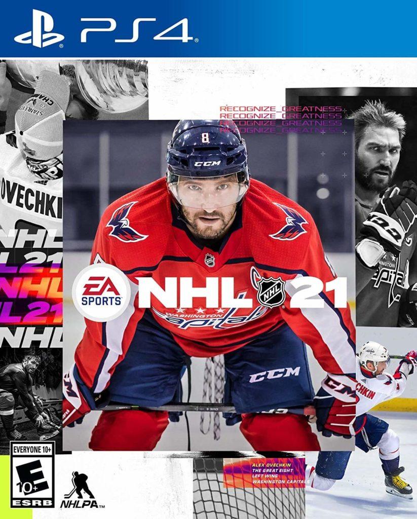 NHL 21 Hockey Game