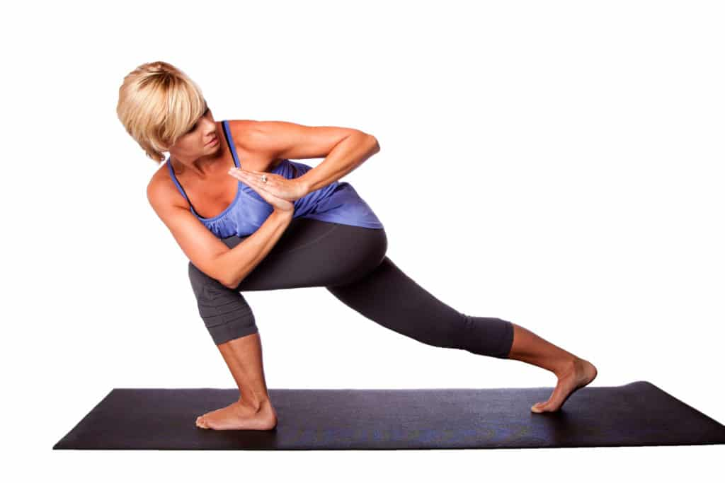 Crescent Lunge Twist Pose
