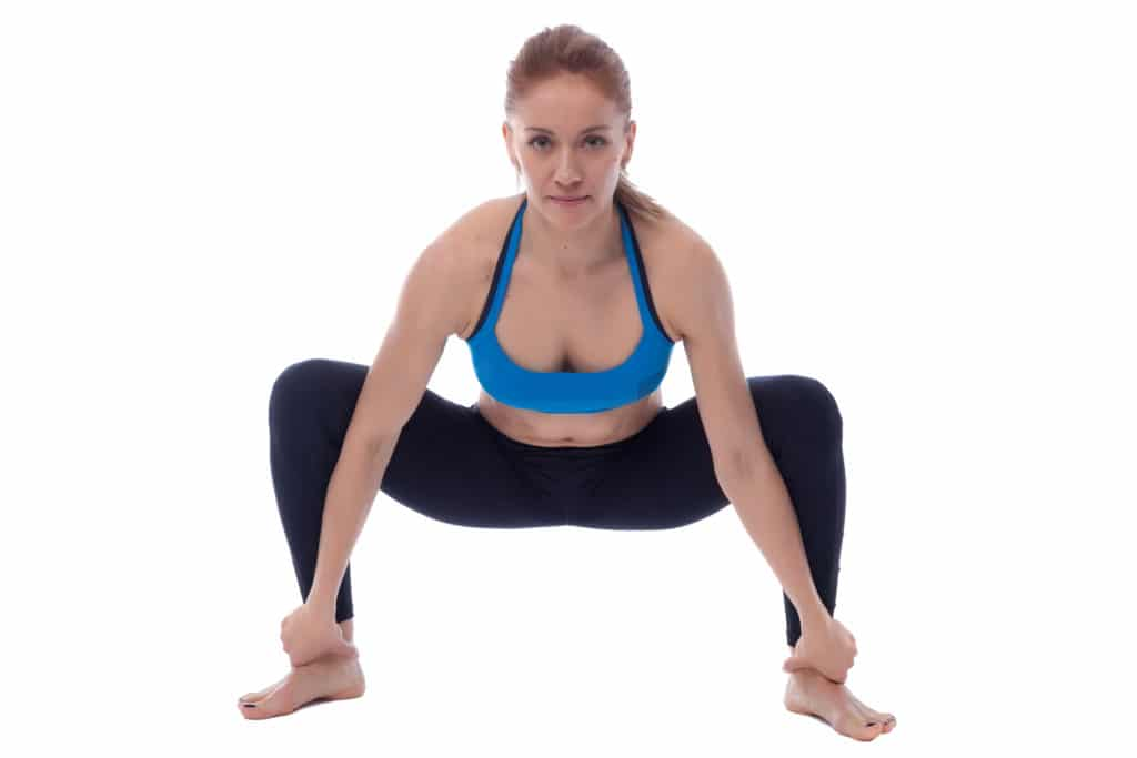 Sumo Squat Stretch