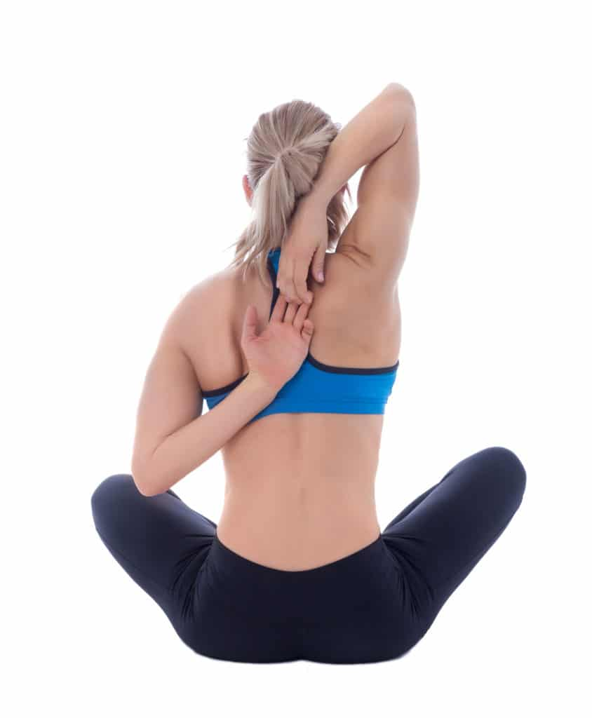 Shoulder and Tricep Stretch
