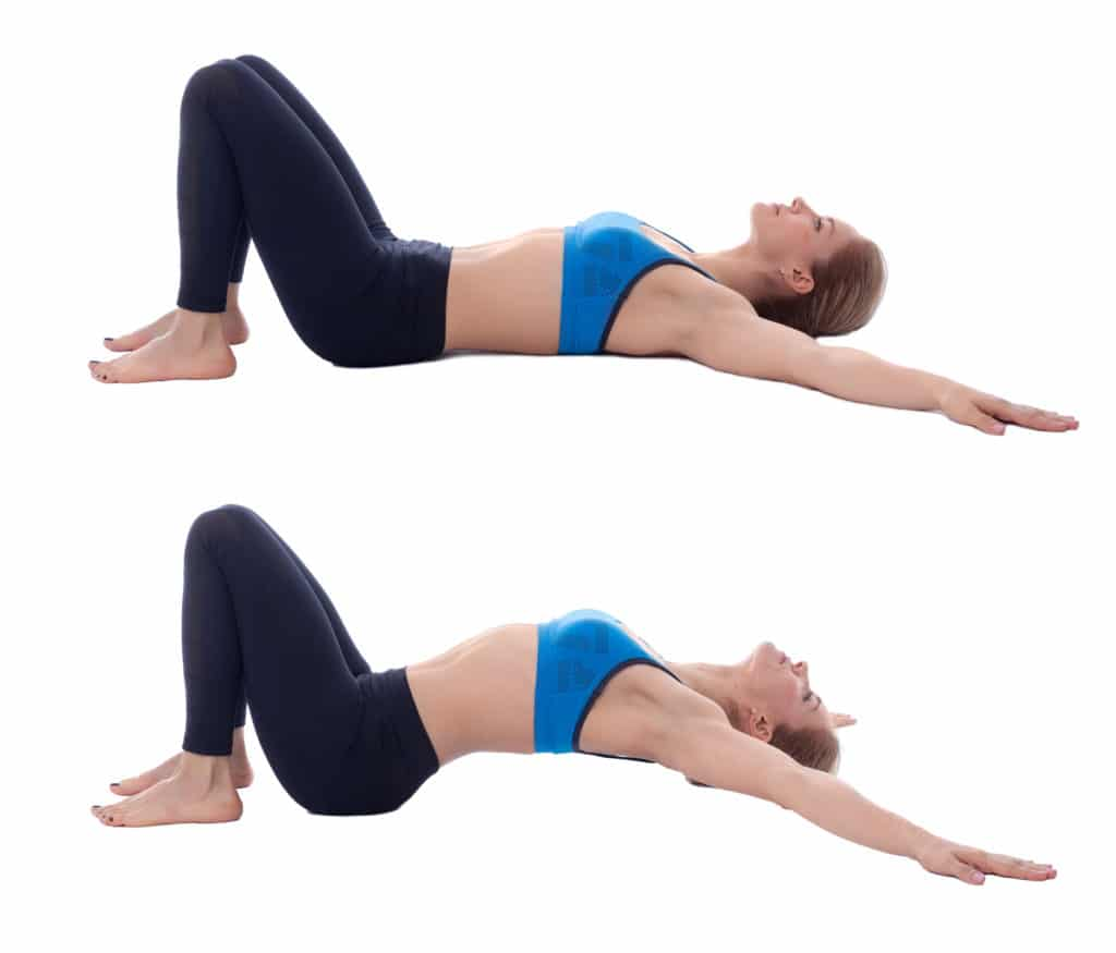 Lower Back Arch Stretch