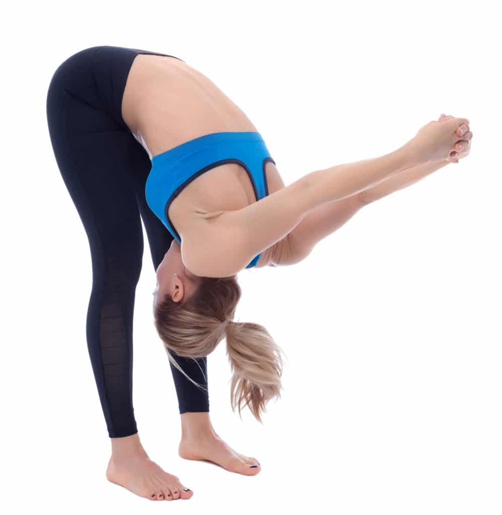 Bent Over Shoulder Stretch