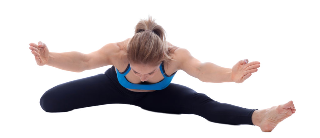 Arms Extended Hurdle Stretch