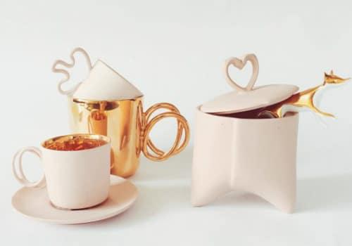 Custom ceramic pieces on Etsy