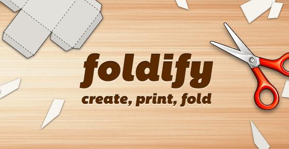 Foldify - Create, Print, Fold! App