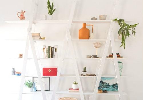A-Frame Ladder Shelves