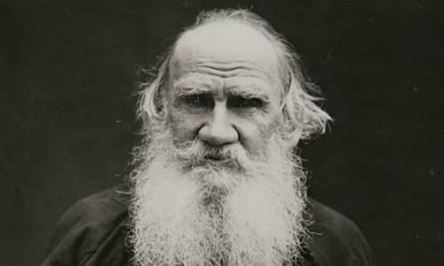 Author Leo Tolstoy