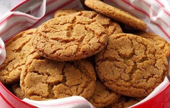 Gingersnaps Cookie Recipe