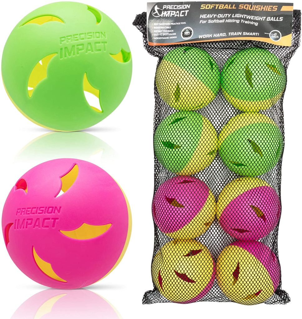 Precision Impact Softball Practice Balls