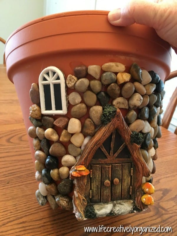 Cottage Flower Pot Craft