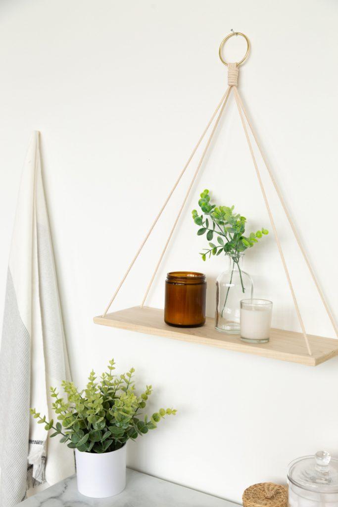 DIY Hanging Shelf Craft