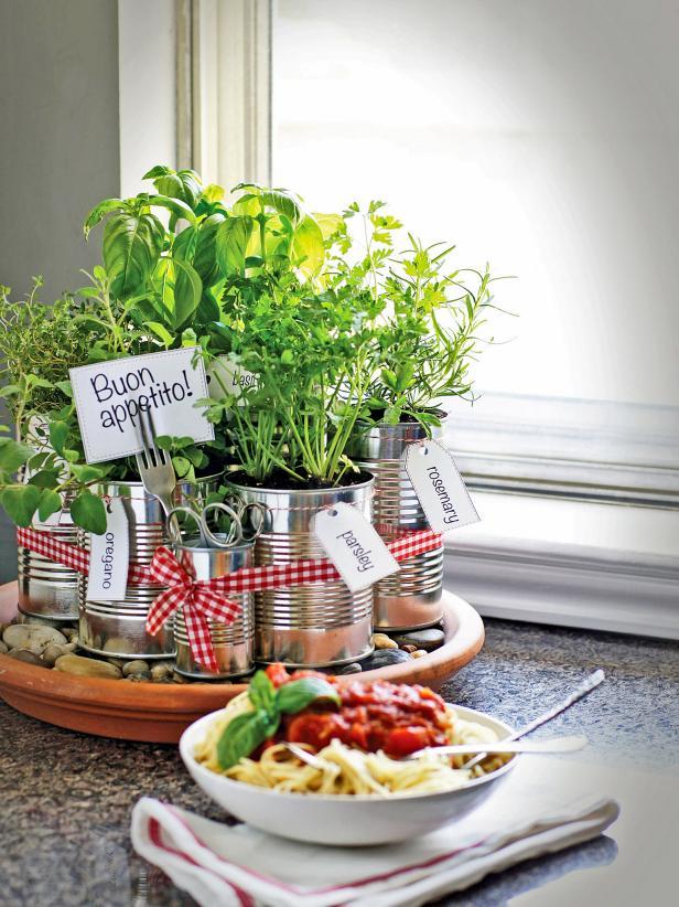 Mini Herb Garden Craft