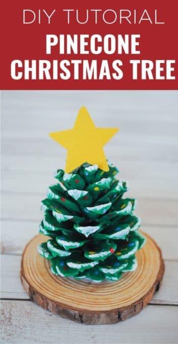 Pine Cone Christmas Tree Craft