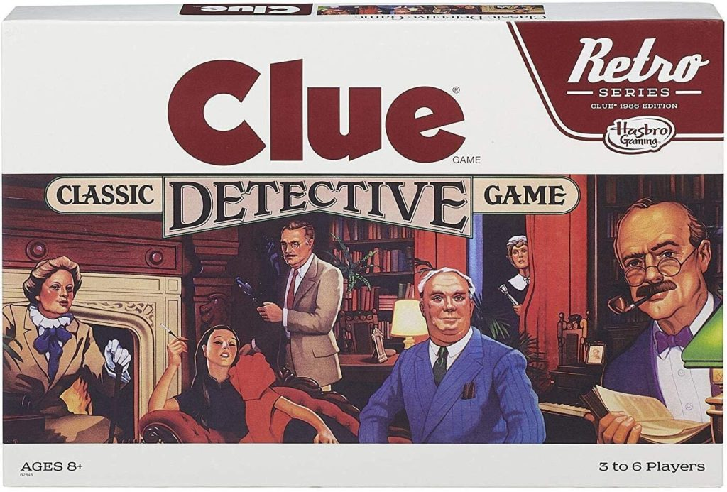 Clue Classic Dective Game