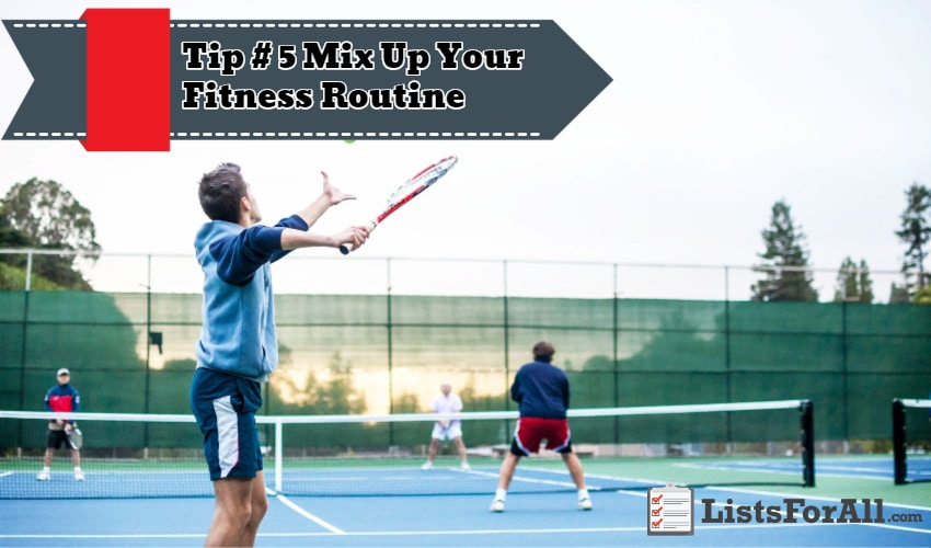 Mix Up Your Fitness Routine